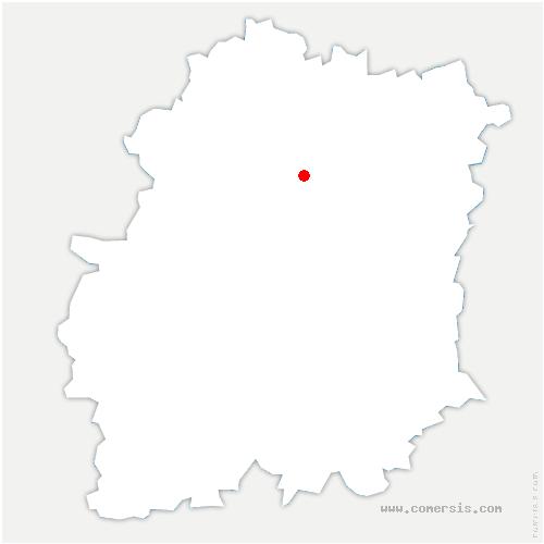 carte de localisation de Linas