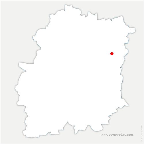 carte de localisation de Lisses