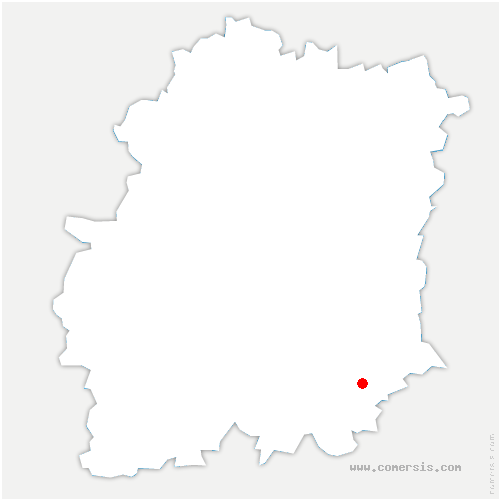 carte de localisation de Maisse