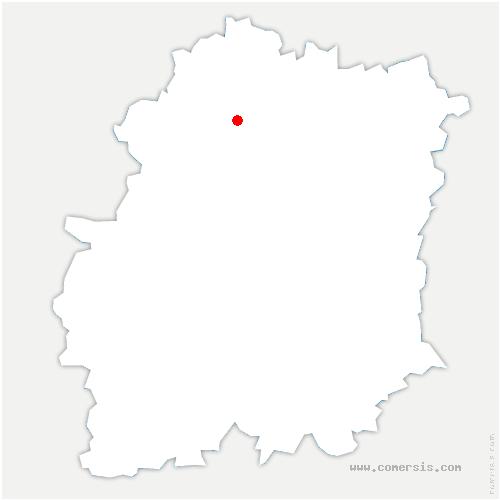 carte de localisation de Marcoussis