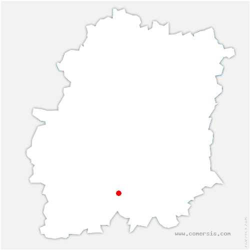 carte de localisation de Marolles-en-Beauce