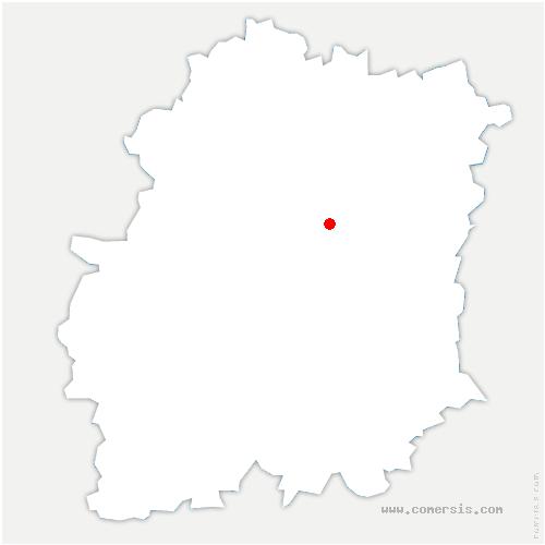 carte de localisation de Marolles-en-Hurepoix