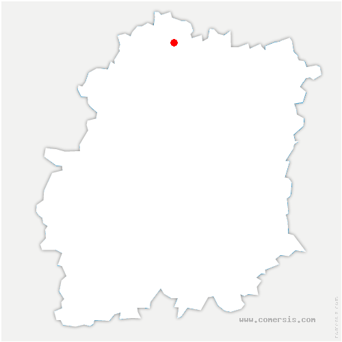 carte de localisation de Massy