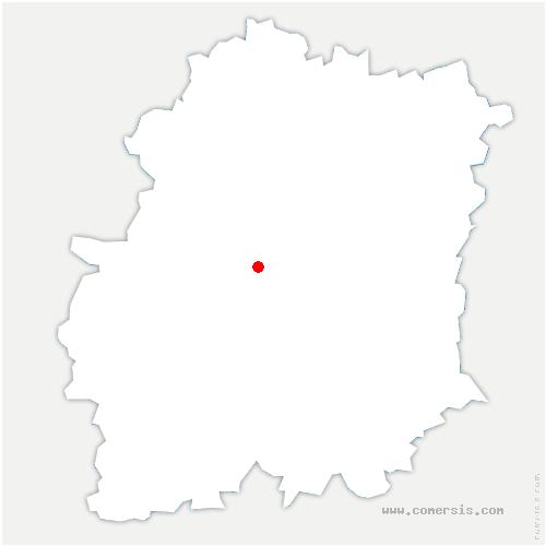 carte de localisation de Mauchamps