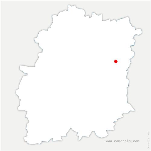 carte de localisation de Mennecy