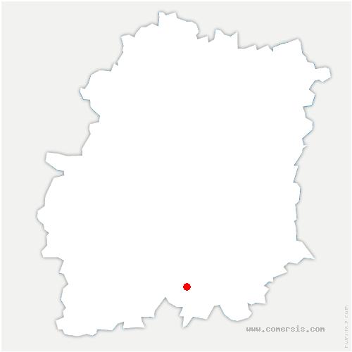 carte de localisation de Mespuits