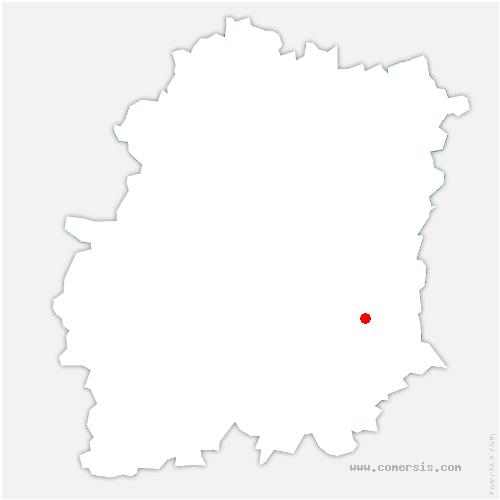 carte de localisation de Moigny-sur-École