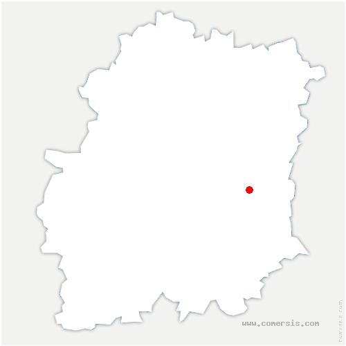 carte de localisation de Mondeville