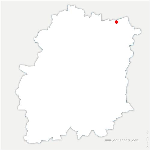 carte de localisation de Montgeron