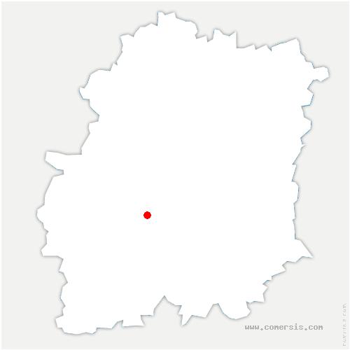 carte de localisation de Morigny-Champigny