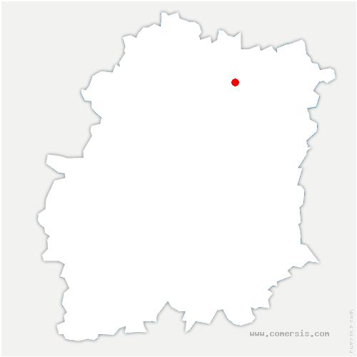 carte de localisation de Morsang-sur-Orge