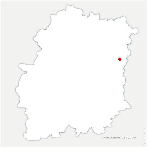 carte de localisation de Morsang-sur-Seine
