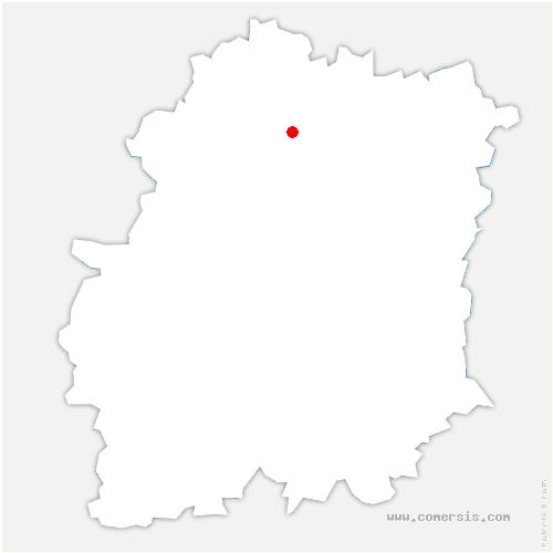 carte de localisation de Nozay