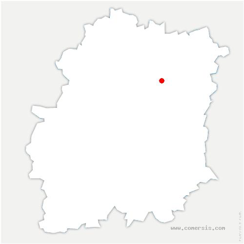 carte de localisation de Plessis-Pâté