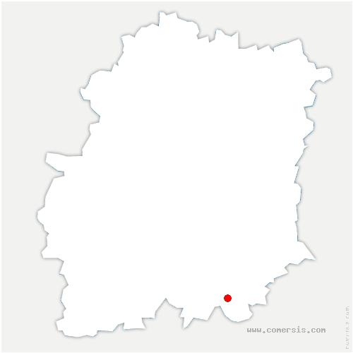carte de localisation de Prunay-sur-Essonne
