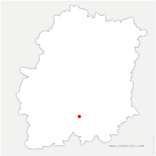 carte de localisation de Puiselet-le-Marais