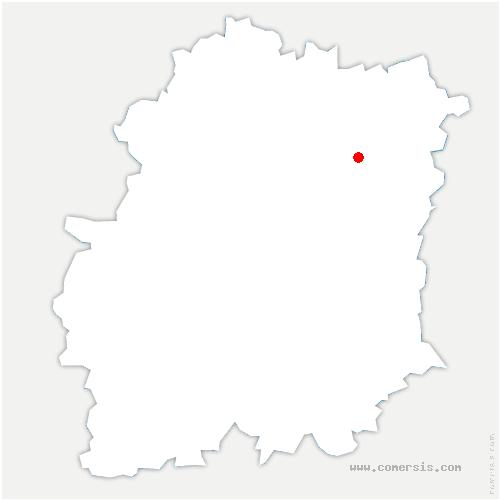 carte de localisation de Ris-Orangis