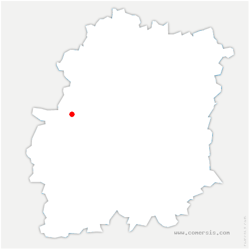 carte de localisation de Roinville