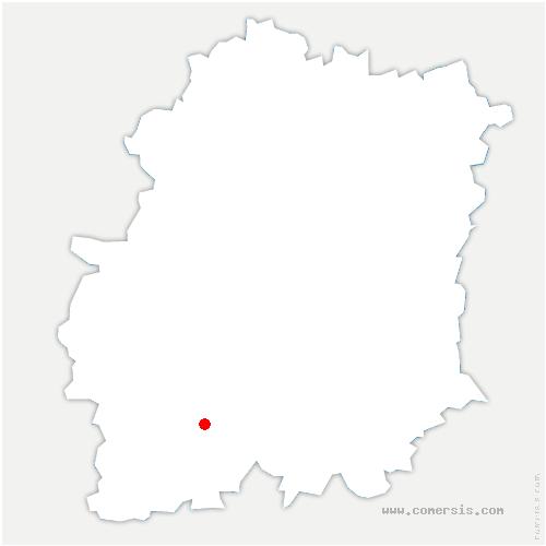 carte de localisation de Saclas