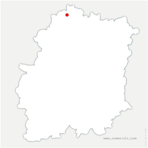 carte de localisation de Saclay