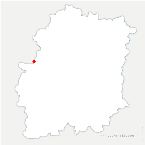 carte de localisation de Saint-Cyr-sous-Dourdan