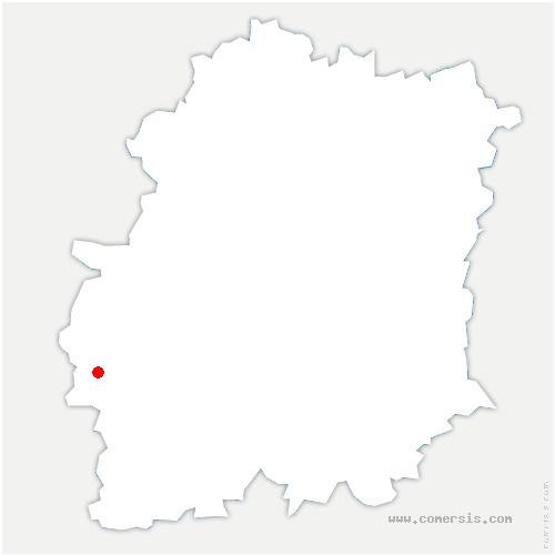 carte de localisation de Saint-Escobille