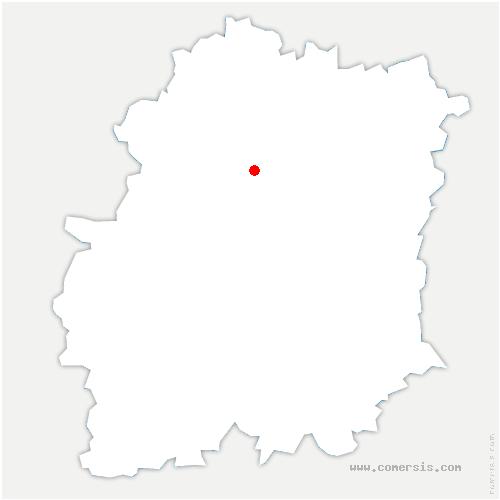 carte de localisation de Saint-Germain-lès-Arpajon