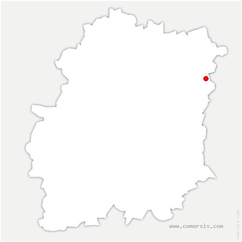 carte de localisation de Saint-Germain-lès-Corbeil