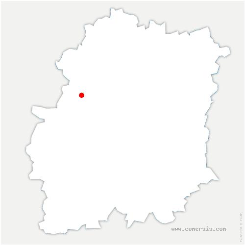 carte de localisation de Saint-Maurice-Montcouronne