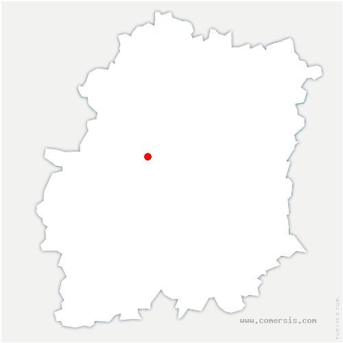carte de localisation de Saint-Yon