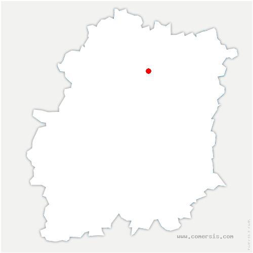 carte de localisation de Sainte-Geneviève-des-Bois