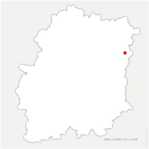 carte de localisation de Saintry-sur-Seine