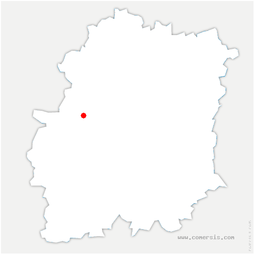 carte de localisation de Sermaise