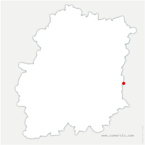 carte de localisation de Soisy-sur-École
