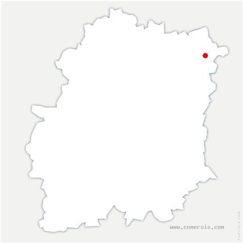 carte de localisation de Soisy-sur-Seine