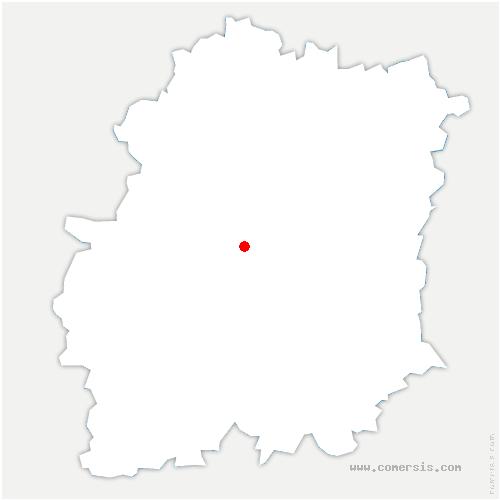 carte de localisation de Torfou