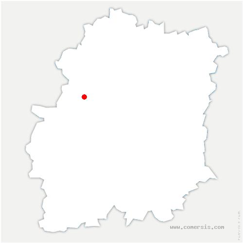 carte de localisation de Val-Saint-Germain