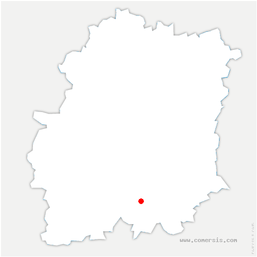 carte de localisation de Valpuiseaux