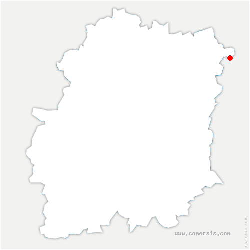 carte de localisation de Varennes-Jarcy