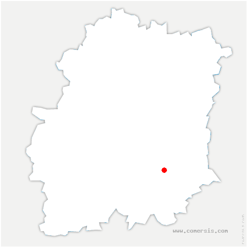 carte de localisation de Vayres-sur-Essonne