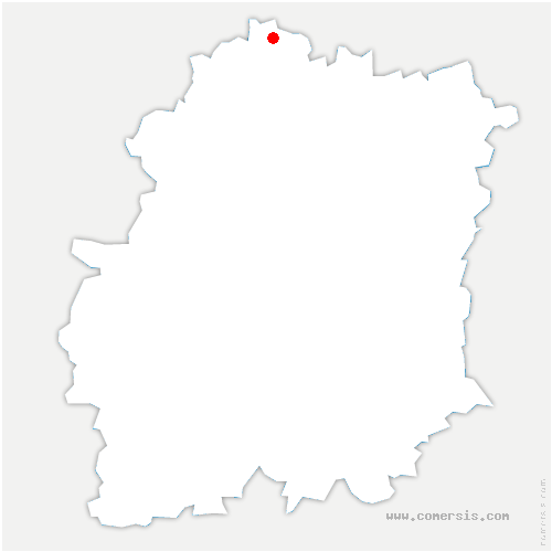 carte de localisation de Verrières-le-Buisson