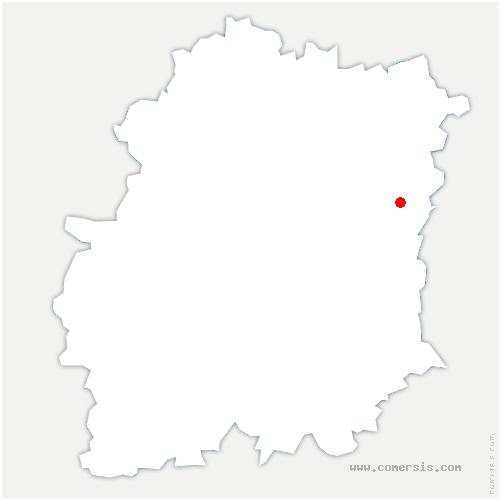 carte de localisation de Villabé