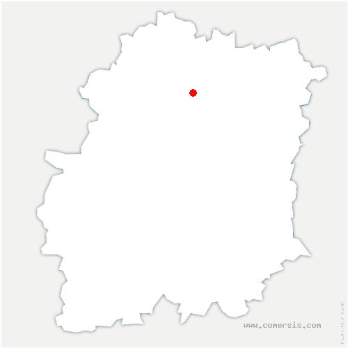 carte de localisation de Ville-du-Bois