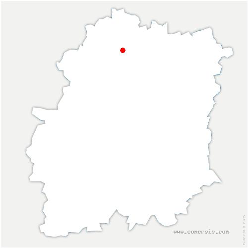 carte de localisation de Villebon-sur-Yvette
