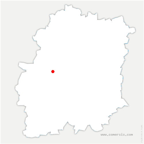 carte de localisation de Villeconin
