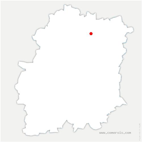 carte de localisation de Villemoisson-sur-Orge