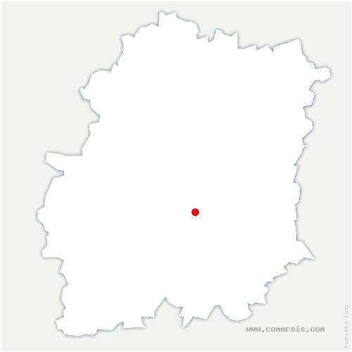 carte de localisation de Villeneuve-sur-Auvers