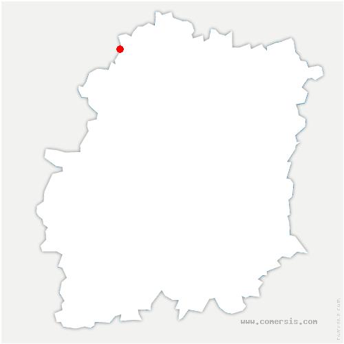 carte de localisation de Villiers-le-Bâcle