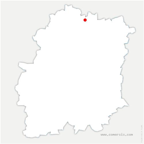 carte de localisation de Wissous