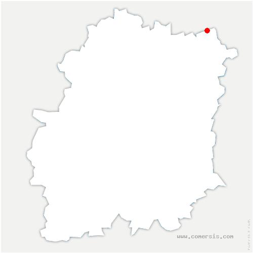 carte de localisation de Yerres